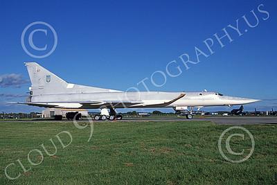 Tupolev Tu-22M Backfire 00002 A static low vis gray Tupolev Tu-22M Backfire jet bomber 7-1998, by Wilfried Zetsche