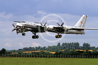 Tu-95 00012 Tupolev Tu-95 Bear Soviet Air Force by Peter J Mancus