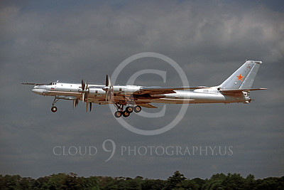 Tu-95 00006 Tupolev Tu-95 Bear Soviet Air Force by Peter J Mancus