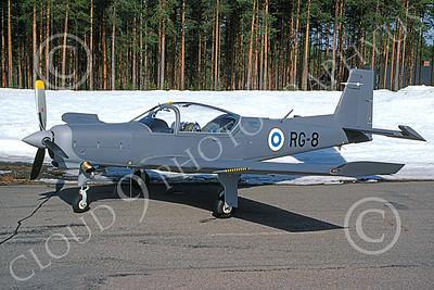 RediGo 00001 A static Valmet L-90 RediGo Finnish Air Force trainer RG-8 2-1994 military airplane picture by Jyrki Laukkanen