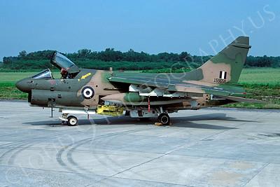 A-7FORG 00003 Vought A-7D Corsair II Hellenic Air Force 159658 via African Aviation Slide Service