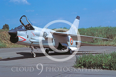 F-8Forg 00001 Vought F-8 Crusader French Navy June 1979 by Wilfreid Zetsche