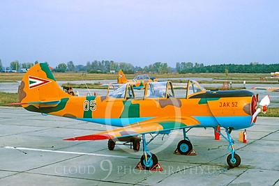 Yakovlev Yak-52 00003 Yakovlev Yak-52  Hungarian Air Force via African Aviation Slide Service