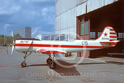 Yak-52 00005 Yakovlev Yak-52 Soviet Air Force September 1992 via African Aviation Slide Service