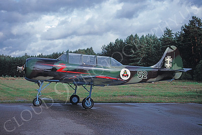 Yakovlev Yak-52 00013 Yakovlev Yak-52 Lithuanian Air Force August 1998 via African Aviation Slide Service