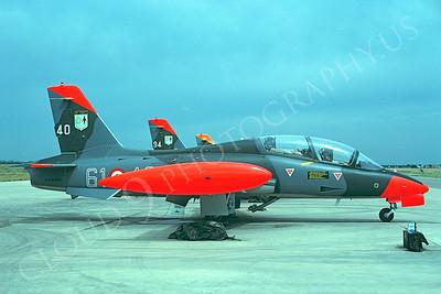 Aermacchi MB-339 00001 Aermacchi MB-339 Italian Air Force by Renzo Sacchetti 23 May 1988 via African Aviation Slide Service