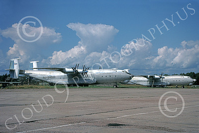 An-22 00005 Two static Antonov An-22 Antheus Cocks 6-2009 military airplane picture by Charles Cox