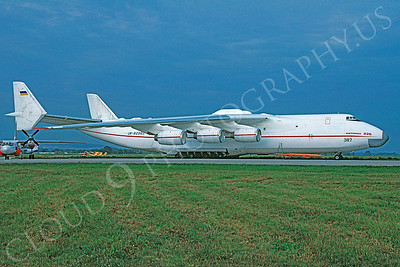 Antonov An-225 Mriya Cossack 00001 Antonov An-225 Mriya Cossack Ukraine Air Force September 1993 via African Aviation Slide Service