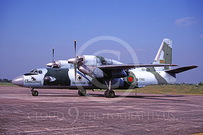 Antonov An-24 Coke 00001 Antonov An-24 Coke Bangaladesh Air Force S3-ACB November 1988 via African Aviation Slide Service