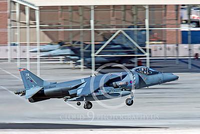BAE Harrier 00036 BAE Harrier British RAF ZG508 by Peter J Mancus
