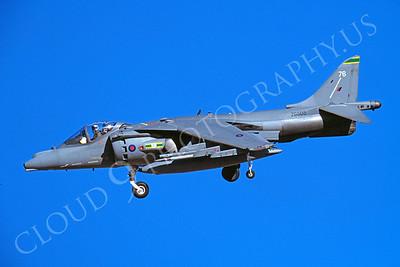 BAE Harrier 00006 BAE Harrier British RAF ZG505 August 2000 by Peter J Mancus