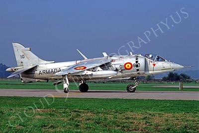 BAE Harrier 00005 BAE Harrier Spanish Navy 01810 October 1982 by Wilfried Zetsche