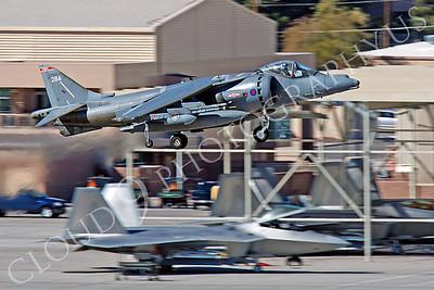 BAE Harrier 00040 BAE Harrier British RAF ZD380 by Peter J Mancus