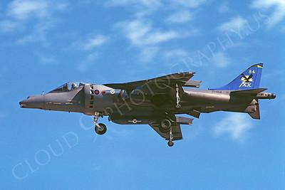 BAE Harrier 00030 BAE Harrier British RAF ZD464 19 July 2002 by Stephen W D Wolf