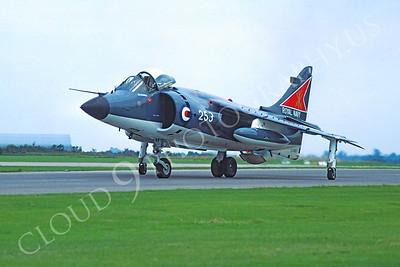 BAE Harrier 00011 BAE Harrier British Royal Navy 2 August 1980 by Stephen W D Wolf