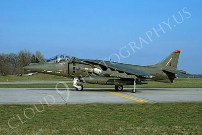 BAE Harrier 00015 BAE Harrier British RAF ZG532 April 1992 by Wilfried Zetsche
