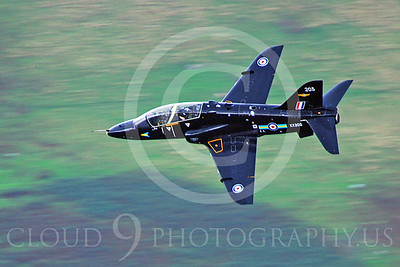 BAE Hawk 00052 British RAF Hawk XX205 by Alasdair MacPhail