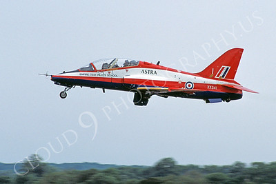 BAE Hawk 00014 BAE Hawk British RAF Empire Test Pilots School XX341 18 July 2005 by Stephen W D Wolf