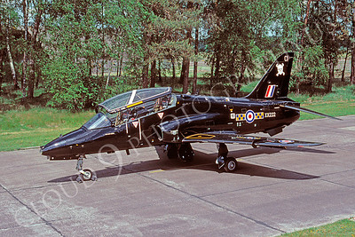 BAE Hawk 00001 BAE Hawk British RAF XX222 June 1995 via African Aviation Slide Service