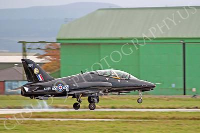 BAE Hawk 00111 BAE Hawk British RAF XX188 by Alasdair MacPhail