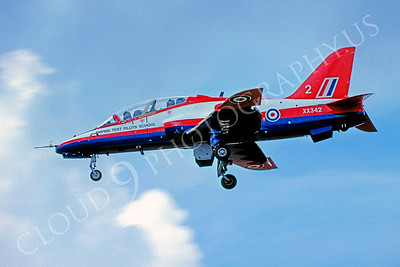 BAE Hawk 00010 BAE Hawk British RAF Empire Test Pilots School XX342 August 2004 by Raymond Bosselaar