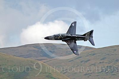 BAE Hawk 00100 British RAF Hawk by Alasdair MacPhail