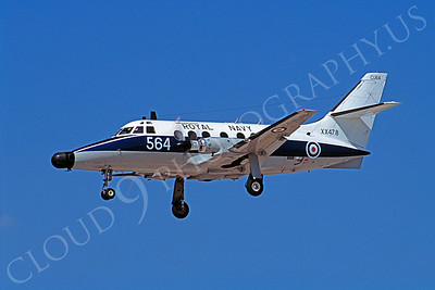 BAE Jetstream 00002 BAE Jetstream British Royal Navy XX478 17 July 2005 by S W D Wolf