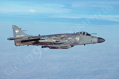 BAE Sea Harrier FA2 00002 British Royal Navy ZH813 December 2002 via African Aviation Slide Service