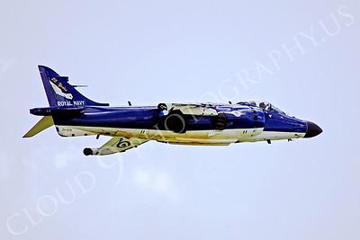 BAE Systems Sea Harrier 00018 BAE Systems Sea Harrier FA2 British RAF ZH809 by Paul Ridgway
