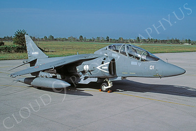 BAE Systems Sea Harrier FA2 00005 BAE Systems Sea Harrier FA2 Italian Navy via African Aviation Slide Service