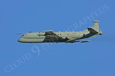 BAE Systems Nimrod 00038 BAE Systems Nimrod British RAF XW664 by Paul Ridgway