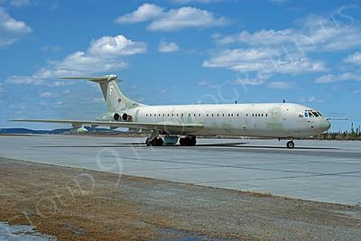 BAC VC10 00003 BAC VC10 British RAF June 1992 via African Aviation Slide Service