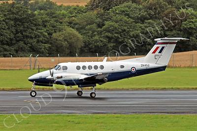 Beech King Air 00001 British RAF ZK452 by Alasdair MacPhail