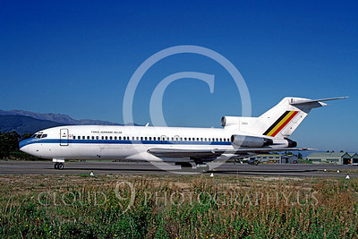 Boeing 727-MF 00003 Boeing 727 Belgium Air Force CB01 November 1987 by Michel Fournier