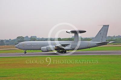 E-3FORG 00001 Boeing E-3 Sentry British RAF ZH105 by Peter J Mancus