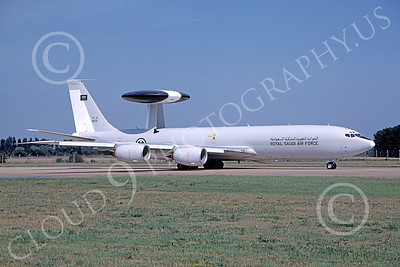 E-3Forg 00030 A taxing Boeing E-3 Sentry Royal Saudi Air Force 1805 10-2003 military airplane picture by Juan Vega