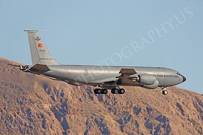 KC-135FORG 00014 Boeing KC-135R Stratotanker Turkish Air Force 58-0110 Nellis AFB by Peter J Mancus