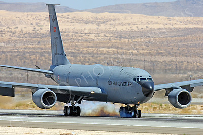 KC-135FORG 00031 Boeing KC-135R Turkish Air Force 57-2609 Nellis AFB by Peter J Mancus