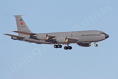 KC-135FORG 00008 Boeing KC-135R Stratotanker Turkish Air Force 58-0110 by Peter J Mancus