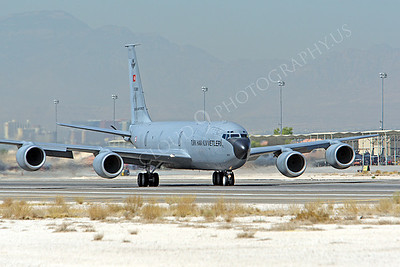 KC-135FORG 00003 Boeing KC-135 Stratotanker Turkish Air Force Nellis AFB by Peter J Mancus