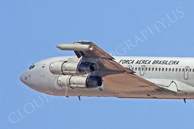 CUNMJ 00152 Boeing KC-137 Brazilian Air Force by Peter J Mancus