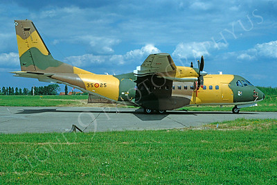 CASA C-295M 00001 CASA C-295M Spanish Air Force 3525 by Philippe Colin June 1992 via African Aviation Slide Service