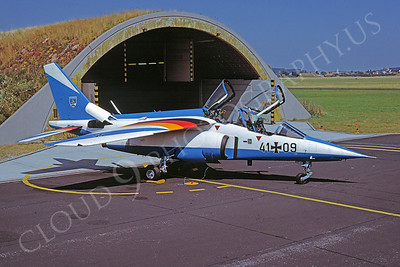 Dassault Alpha Jet 00003 Dassault Alpha Jet German Air Force 4109 Easter Egg April 1994 via Aviation Slide Service