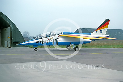 EE-Alpha Jet 00005 Dassault Alpha Jet German Nov 1984 by M Krassort via AASS