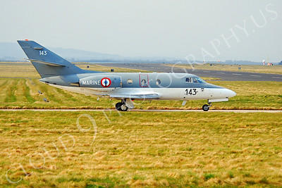 Falcon 100 00021 Dassault Falcon 100 French Navy by Alasdair MacPhail