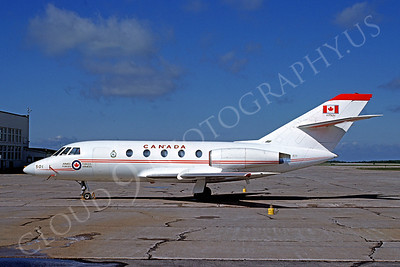 Dassault Falcon 20 00003 Dassault Falcon 20 Canadian Armed Forces 187501 CT-117 North Bay June 1977 by David Shapcutt