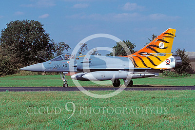 TMM-Mir2000 00001 Dassault Mirage 2000 French Air Force Sept 2004 via African Aviation Slide Service