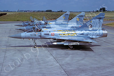 Dassault Mirage 2000 00003 Dassault Mirage 2000 Fench Air Force 12-YG June 2001 via African Aviation Slide Service