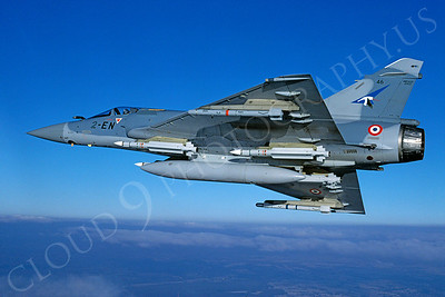 Dassault Mirage 2000 00022 Dassault Mirage 2000 French Air Force 2-EN February 2000 via African Aviation Slide Service