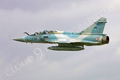 Dassault Mirage 2000 00008 Dassault Mirage 2000 French Air Force 5-OB by Paul Ridgway
